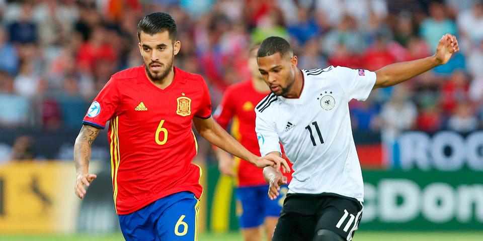 Себальос признан самым ценным игроком молодежного Евро-2017, Сауль получил «Золотую бутсу»