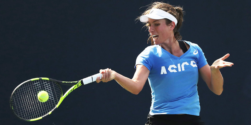 Конта завершила борьбу на US Open после поражения 78-й ракетке мира