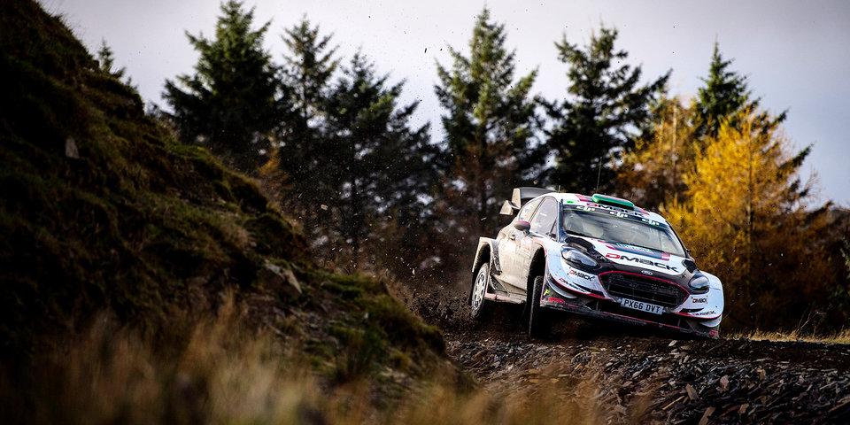 Эванс выиграл домашний этап WRC, Ожье досрочно оформил пятый чемпионский титул