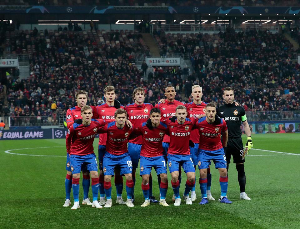 ЦСКА потерял шансы на попадание в плей-офф Лиги чемпионов