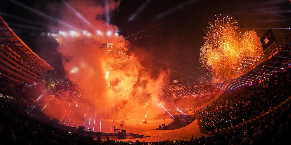 Корейцы пронесли на стадион файеры, но их не оштрафуют! Рецензия на церемонию открытия-2018