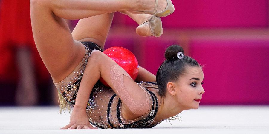 Дина Аверина выиграла упражнения с мячом на этапе Гран-при в Москве, Селезнева — лучшая в упражнениях с обручем