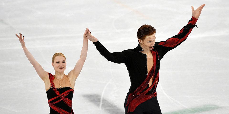 Тарасова и Морозов – вторые после короткой программы на Олимпийских играх-2018