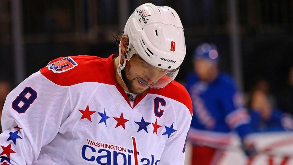 Овечкин стал третьей звездой дня в НХЛ