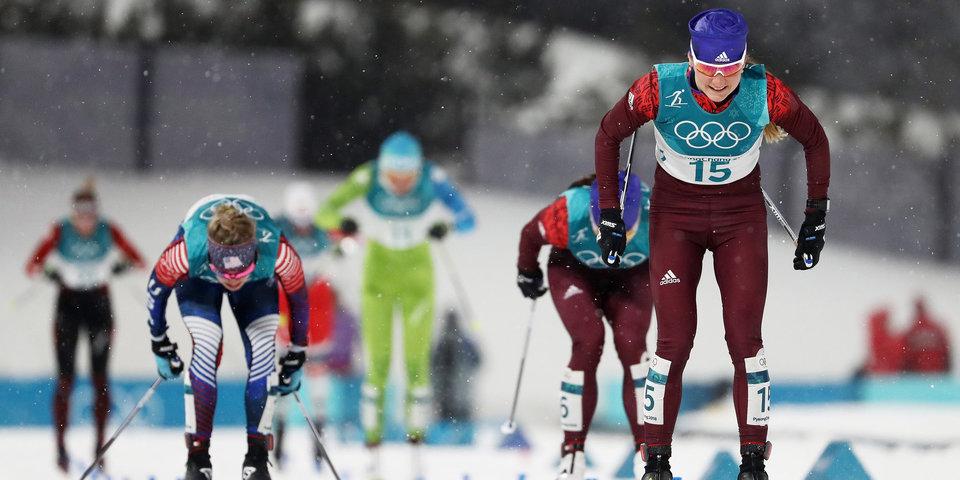 Белорукова — бронзовый призер ОИ-2018 в спринте