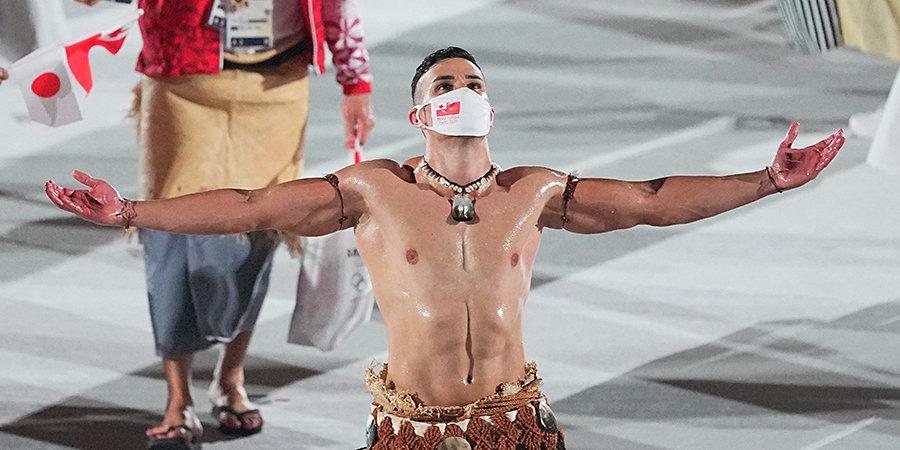 Знаменосец Тонга: «Ларин — лучший в мире. Я поздравляю его и всю Россию»