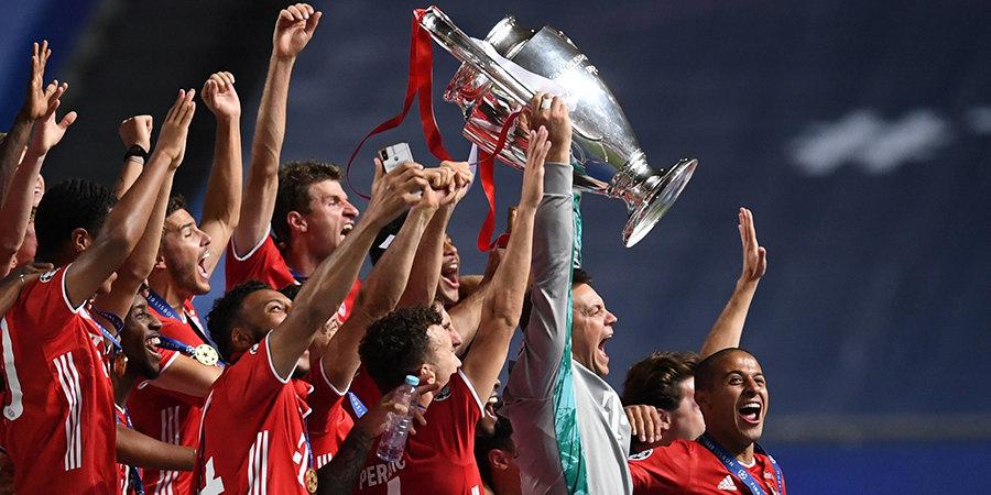 «Бавария» сместила «Реал» с первого места в клубном рейтинге УЕФА. «Зенит» — 22-й