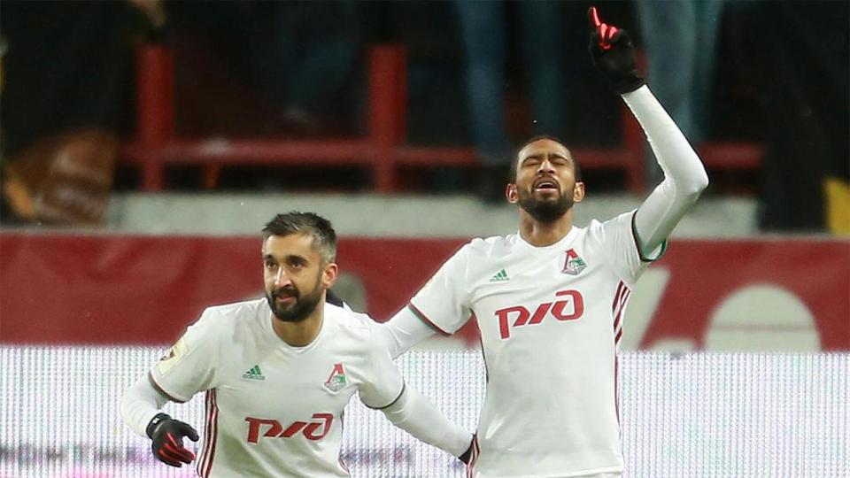 Дубль Майкона помог «Локомотиву» разгромно победить «Анжи»