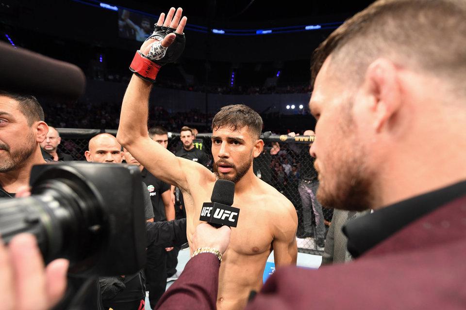 Бой Родригеса и Стивенса признан лучшим на турнире UFC в Бостоне