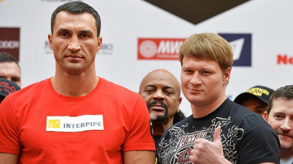 Поветкин готов провести реванш с Владимиром Кличко в случае возвращения украинца на ринг
