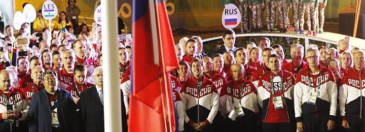 «Завтра выходной, нормально все». В олимпийской деревне подняли флаг России