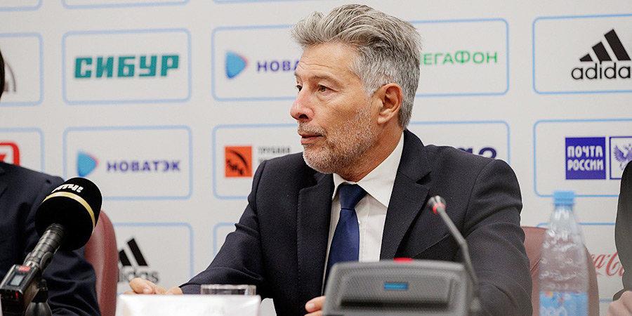Витор Перейра отреагировал на конфликт между Слуцким и арбитром Ивановым