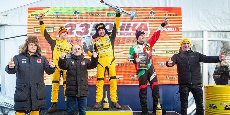 Первый русский гонщик «Ф-1» выступил в «Гонке Чемпионов». Но победу одержал Кирилл Ладыгин