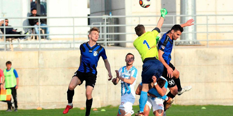 «Рига» стала третьей на Кубке ФНЛ, обыграв «Шинник»