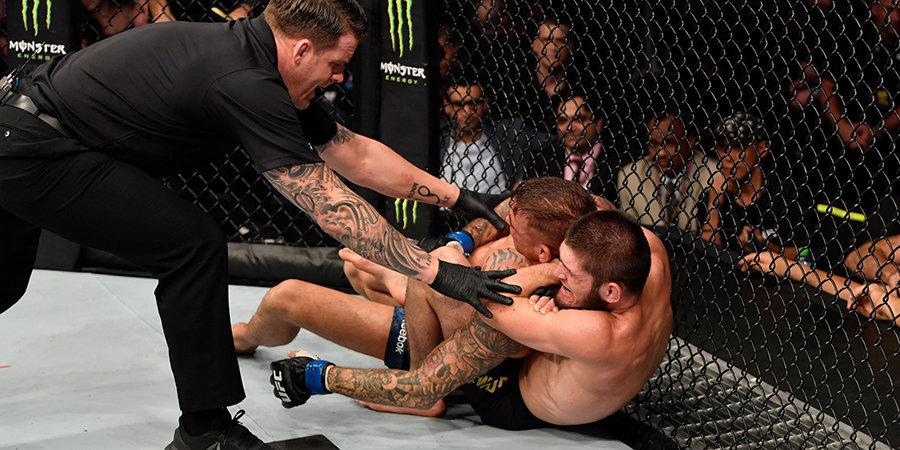 Порье показал повреждения после боя с Нурмагомедовым. Главные фото после UFC 242
