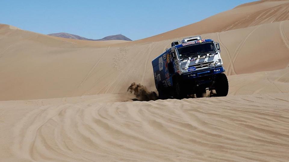 Николаев — победитель третьего этапа «Дакара» среди грузовиков
