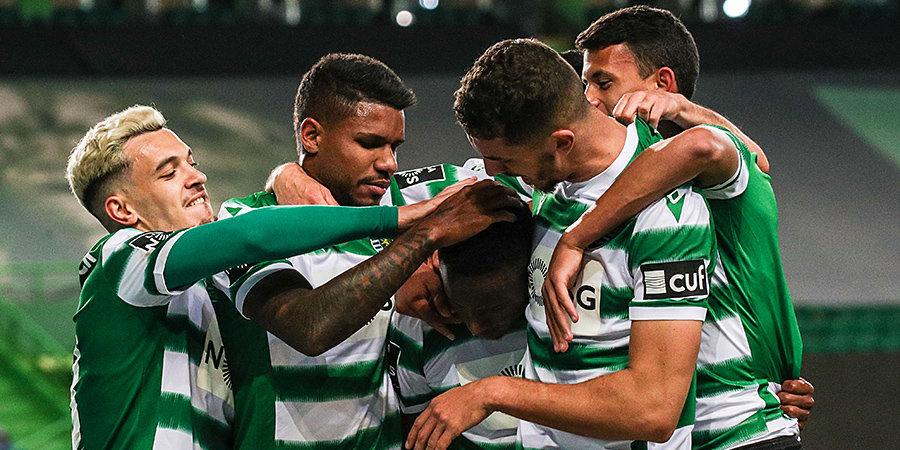 «Спортинг» победил «Боавишту» и 19 лет спустя вновь стал чемпионом Португалии (видео празднования)