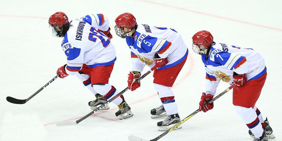 Сборная России получила 5 шайб от США в четвертьфинале домашнего ЧМ