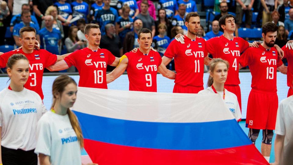 Россия «всухую» обыграла Польшу в матче Мировой лиги