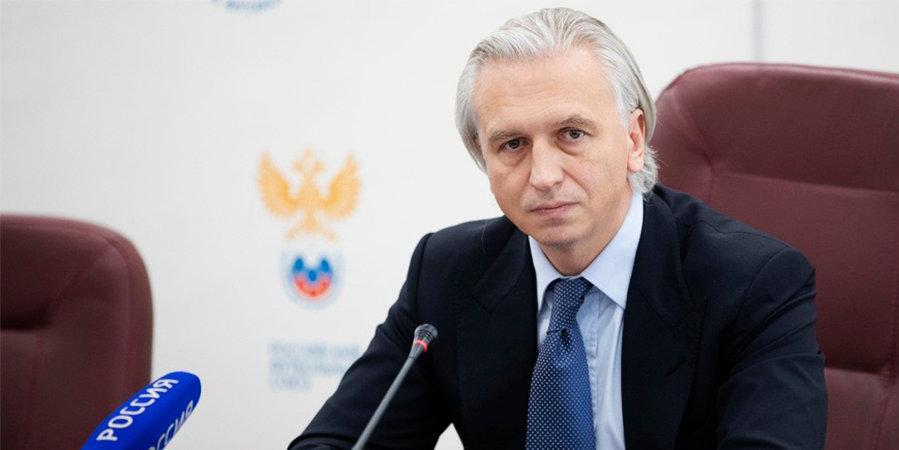 Об отстранении Вилкова, возможном недопуске «Алании» до РПЛ и скандале с «Чертаново». Президент РФС дал большую пресс-конференцию