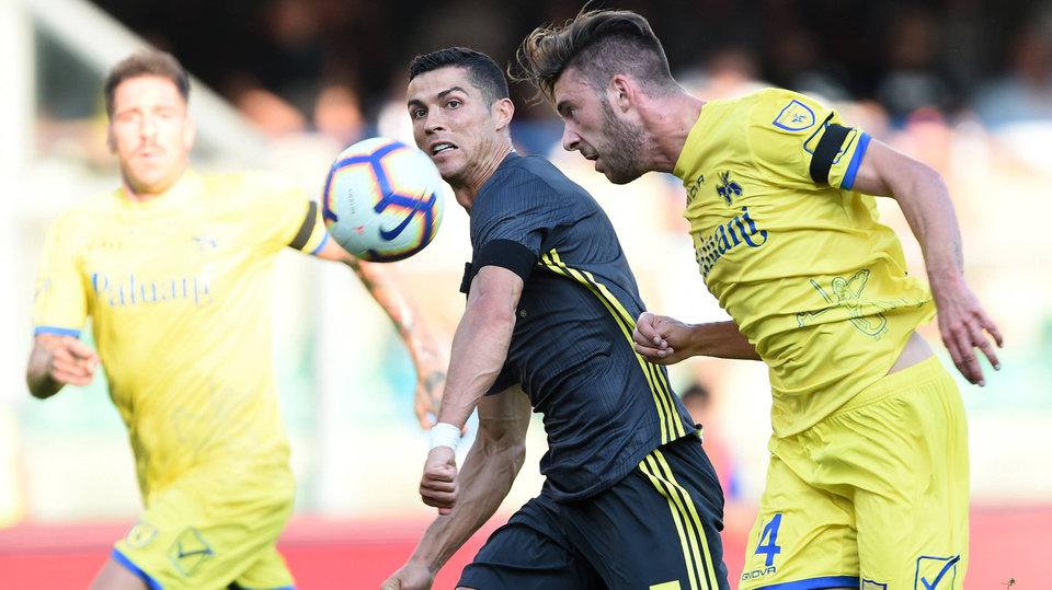 Травмированный вратарь «Кьево»: «Команда билась, в то время как Роналду взял меня на себя»