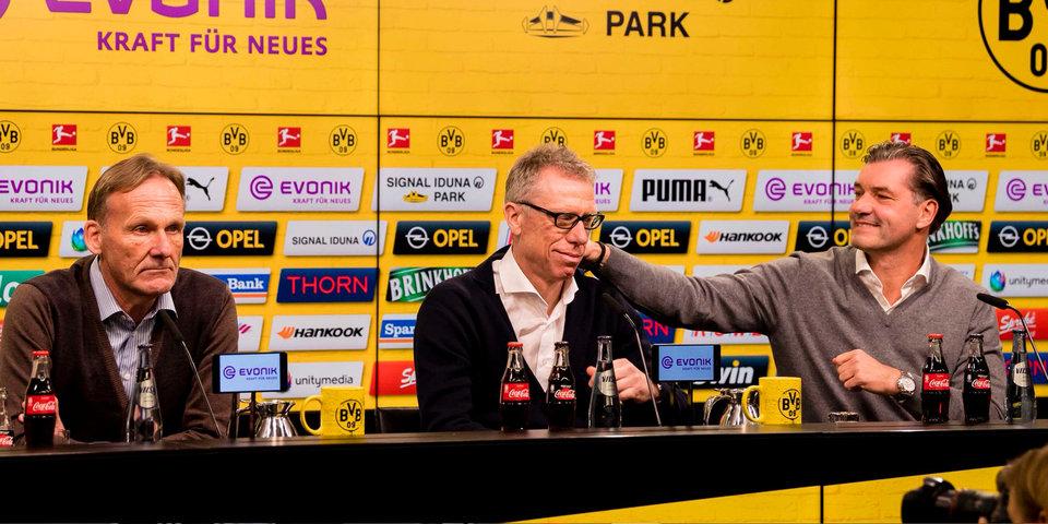 Главный тренер «Боруссии» отправлен в отставку