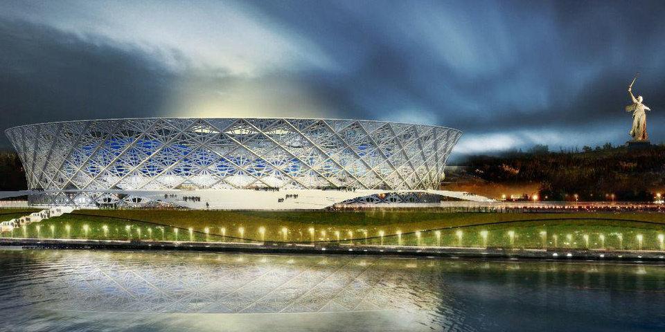 Стадион в Волгограде введен в эксплуатацию