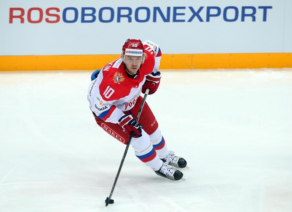 Мозякин, Шипачев и Дадонов вошли в состав сборной РФ на заключительный этап Евротура