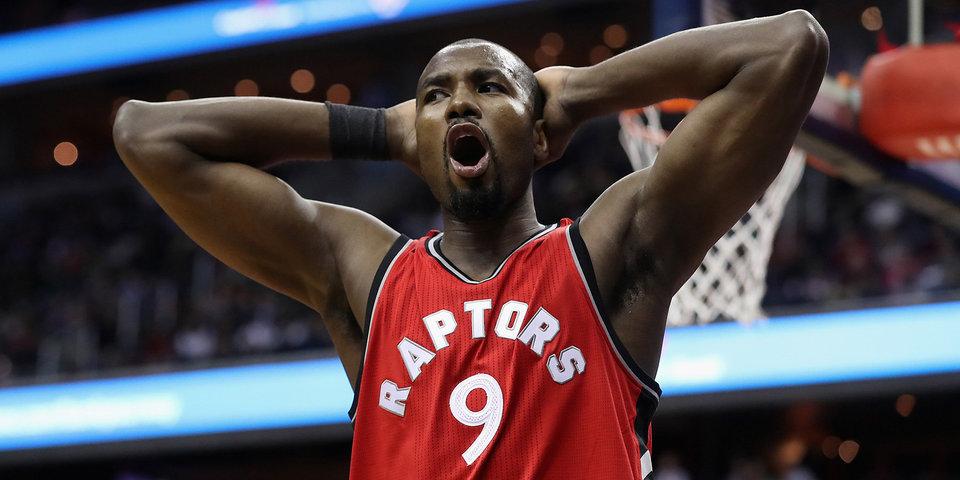 Ибака подписал трехлетний контракт с «Торонто» на 65 миллионов долларов