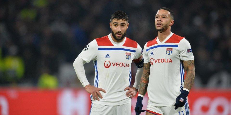 «Лион» в большинстве одержал волевую победу над «Бордо»