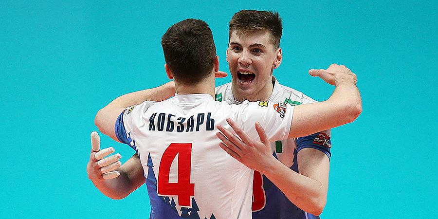 «Кузбасс» выиграл второй матч у казанского «Зенита» в финале Суперлиги