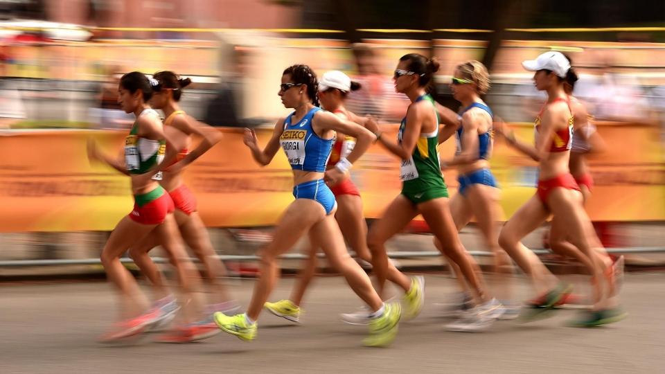 Украинская легкоатлетка отстранена из-за допинга