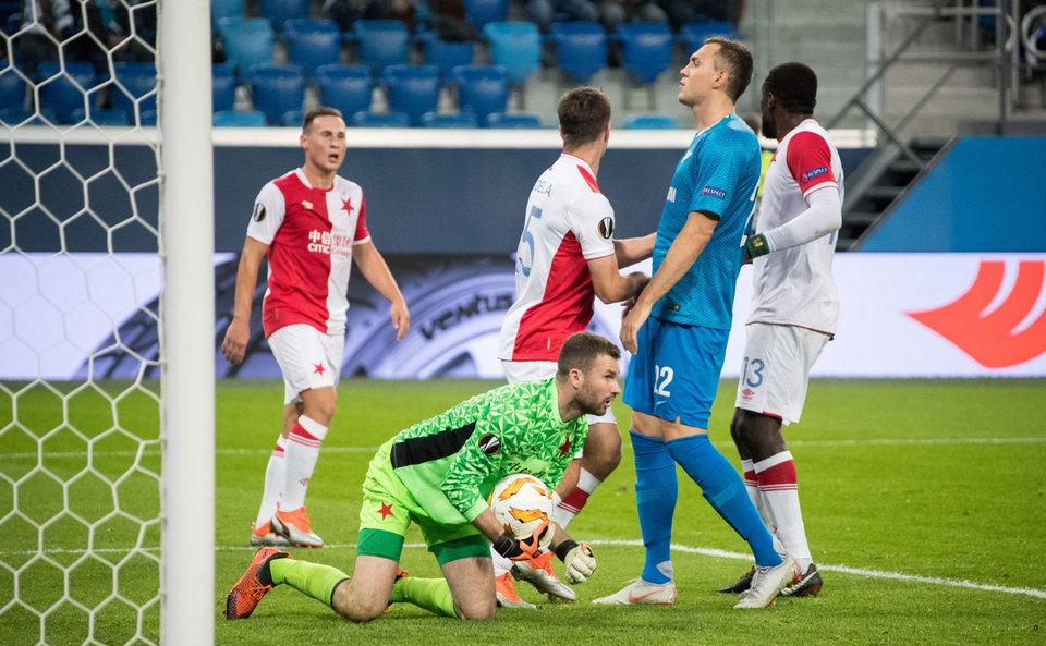 Соперник «Зенита» по ЛЕ сыграл вничью в чемпионате Чехии