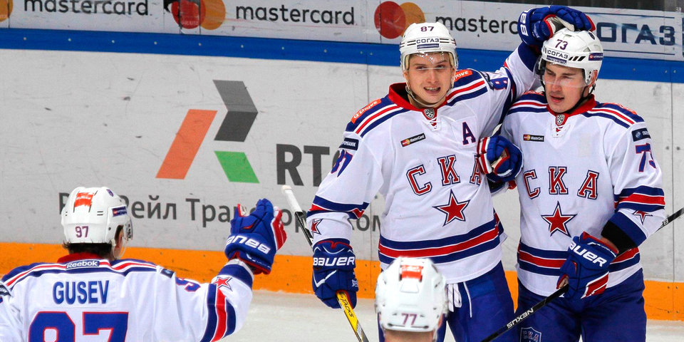 СКА обыграл «Ак Барс» впервые за шесть последних матчей