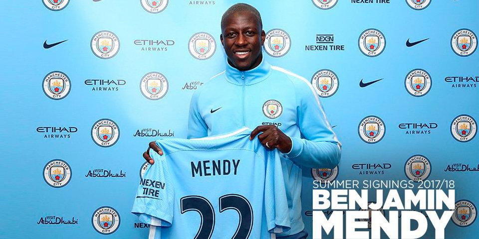 «Манчестер Сити» объявил о покупке Менди из «Монако»