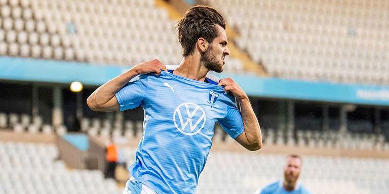 «Мальме» сыграл вничью с «Ригой» и вышел во второй раунд квалификации ЛЧ