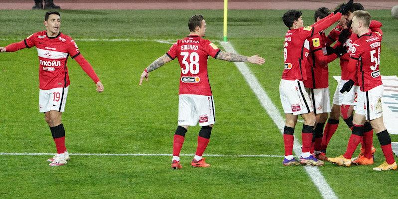 «Спартак» прибыл в Санкт-Петербург на матч с «Зенитом»
