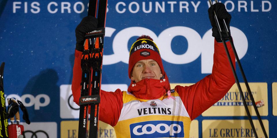 Большунов выиграл золото индивидуальной гонки на 15 км, Бессмертных взял бронзу