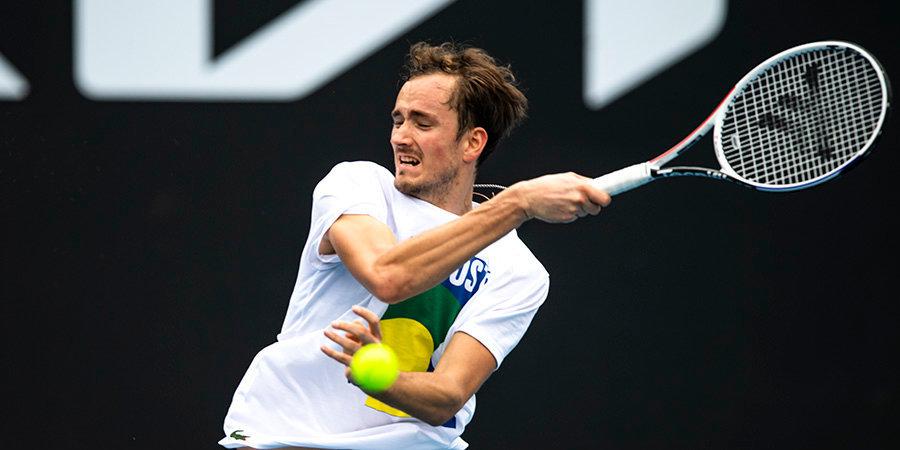 Даниил Медведев: «Счастлив, что одержал первую победу в пятисетовом матче»