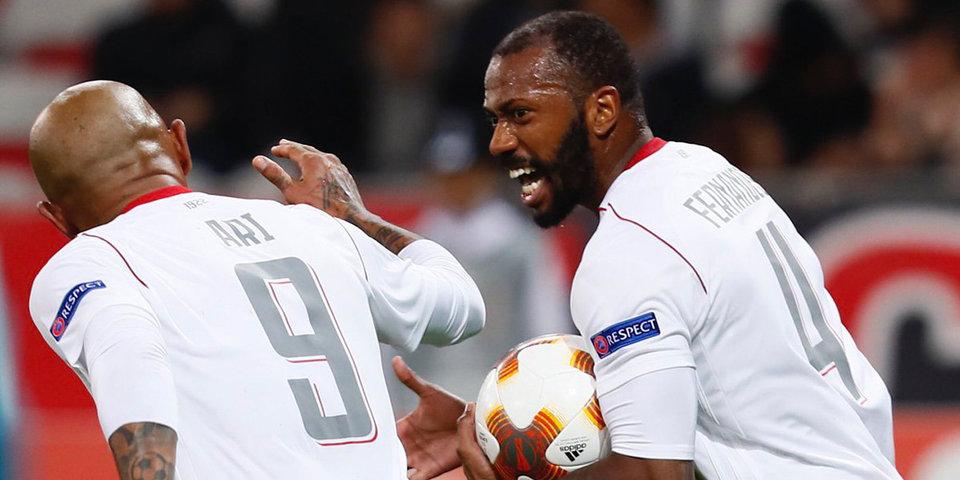 Фернандеш отвечает тремя голами на дубль Балотелли! «Локо» вырывает победу в Ницце