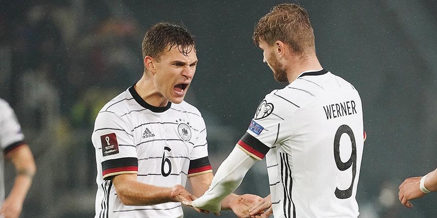 Германия первой отобралась на ЧМ в Катаре, Депай возглавил гонку бомбардиров. Главные итоги дня + обзоры всех матчей