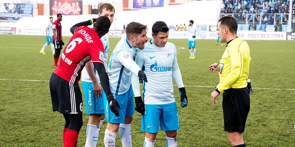 Сергей Прядкин: «Считаю, если мяч пересек линию, гол «Зенита» нужно было засчитывать»