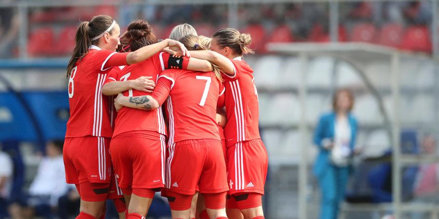 Женская сборная России уступила Норвегии в квалификации Евро-2019 среди игроков до 17 лет