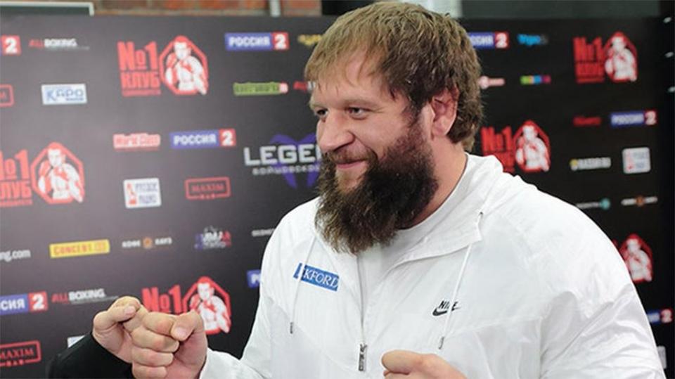 Александр Емельяненко дебютирует в «Ахмате» поединком против Дос Сантоса