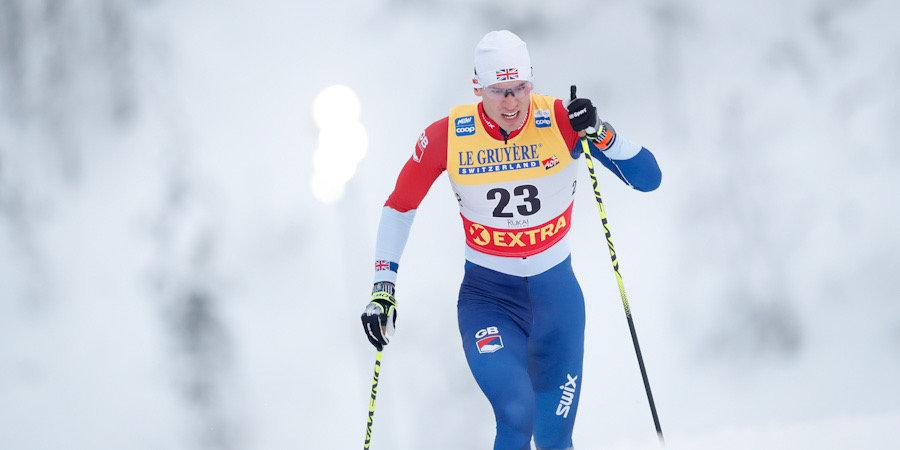 Британский лыжник сломал бедренную кость в результате падения в масс-старте на этапе Кубка мира в Фалуне