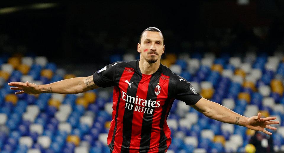 Ибрагимович попал в заявку «Милана» на матч c «Торино»
