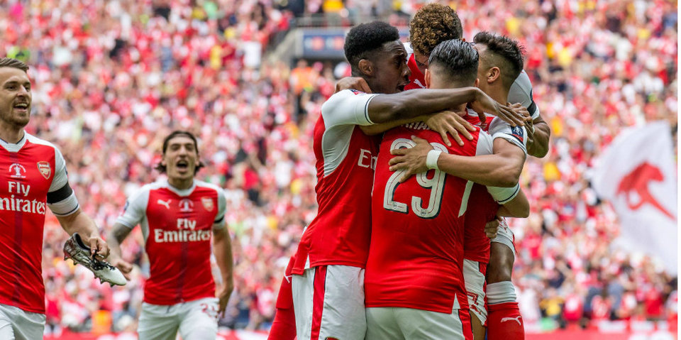 «Арсенал» дожимает «Челси» в безумном финале Кубка Англии