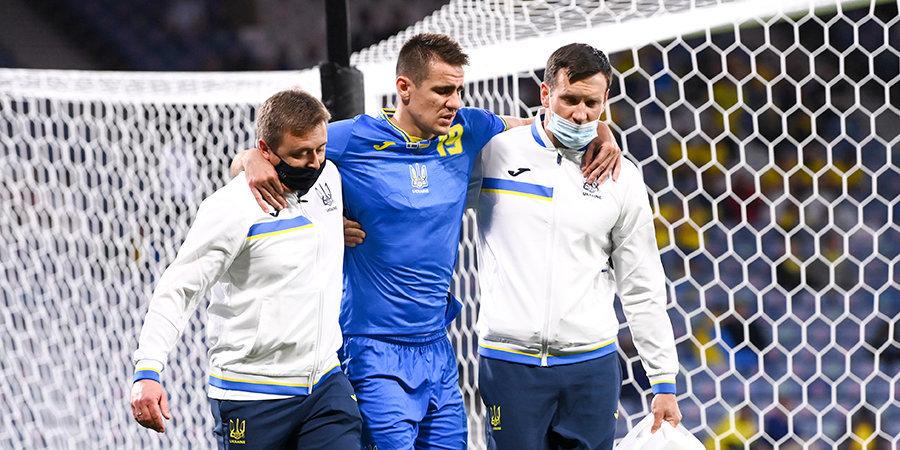 Беседин покинул расположение сборной Украины