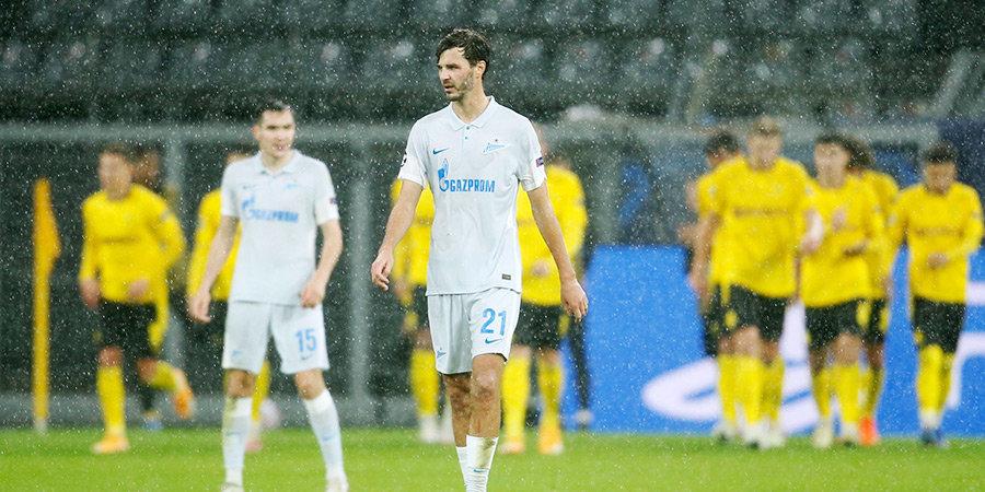 «Зенит» проиграл три матча подряд впервые с 2018 года