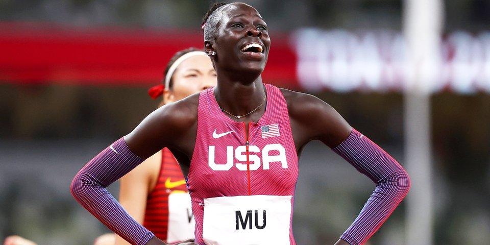 Эйтинг Му стала олимпийской чемпионкой в Токио в забеге на 800 метров